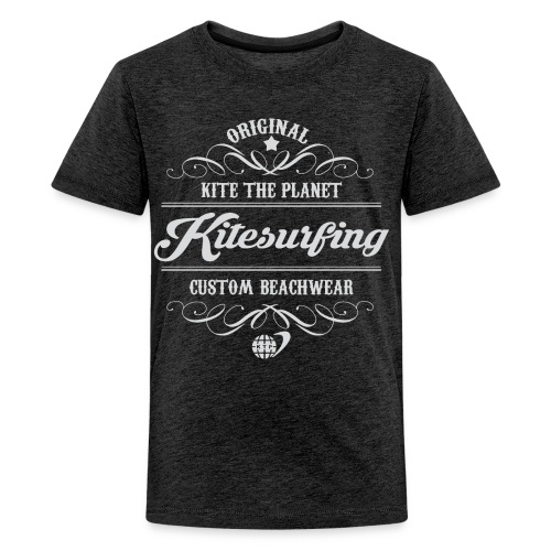 Kite The Planet Kitesurfing Custom - Kids' Premium T-Shirt