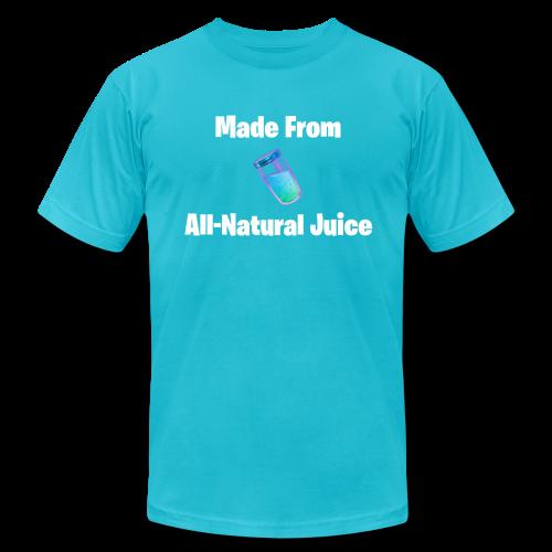 All-Natural Juice - Men's Fine Jersey T-Shirt