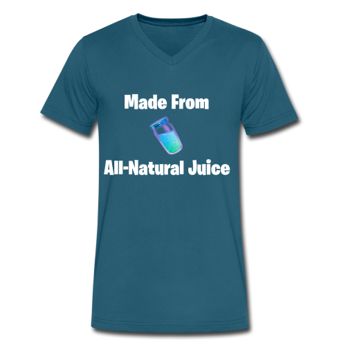 All-Natural Juice - Men's V-Neck T-Shirt by Canvas
