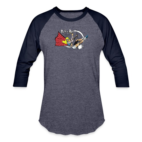 Polka-Dot Pirate - Baseball T-Shirt