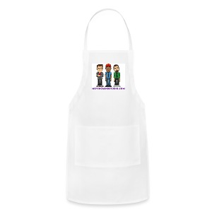 Adjustable Apron - Less expensive than a wedding dress.