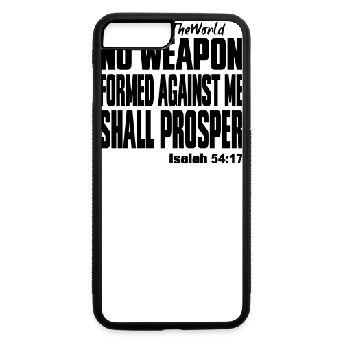NO WEAPON mens tee - iPhone 7 Plus/8 Plus Rubber Case