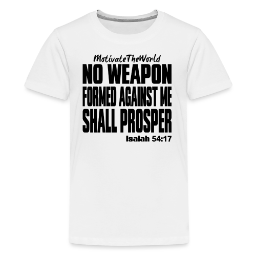 NO WEAPON mens tee - Kids' Premium T-Shirt