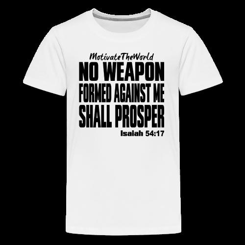 NO WEAPON mens tee - Kids' Premium T-Shirt