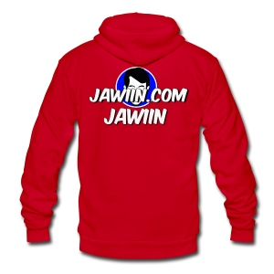 The NEW Official Jawiin T-Shirt - Unisex Fleece Zip Hoodie by American Apparel