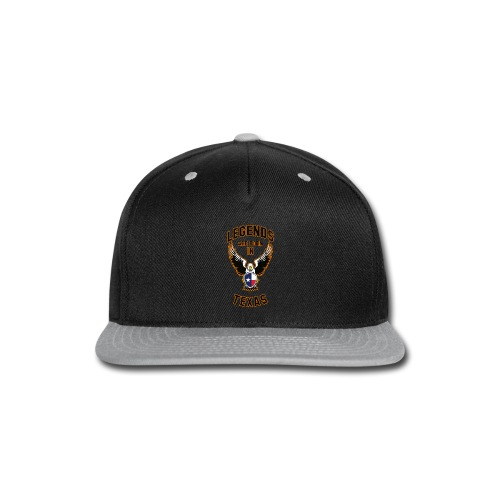 Legends are born in Texas - Snap-back Baseball Cap