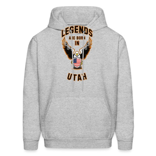 Legends are born in Utah - Men's Hoodie