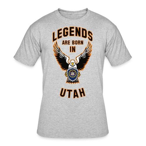 Legends are born in Utah - Men's 50/50 T-Shirt