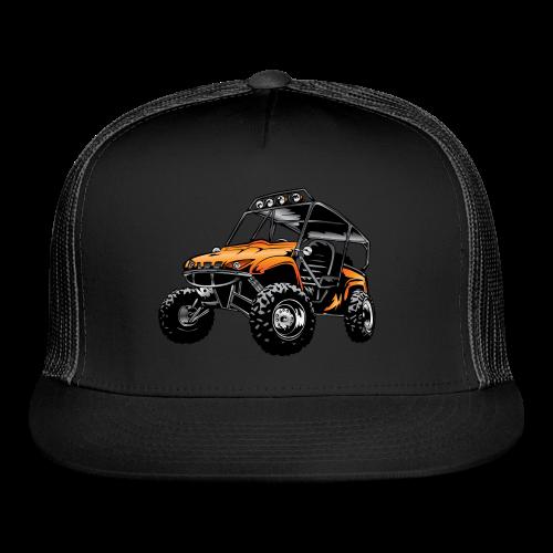 UTV side-x-side, orange - Trucker Cap