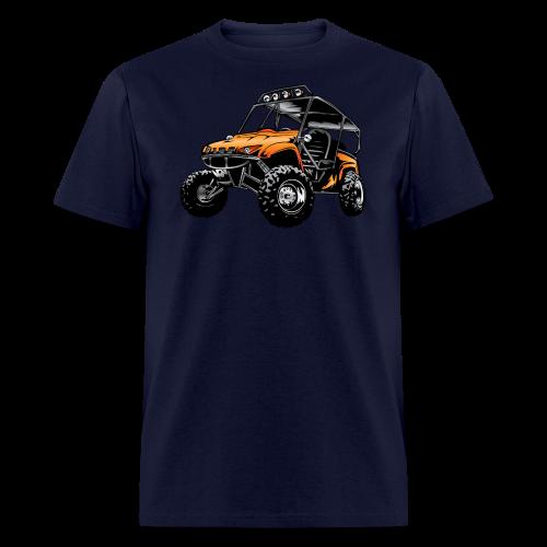 UTV side-x-side, orange - Men's T-Shirt