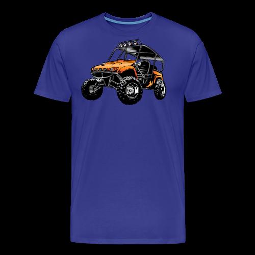 UTV side-x-side, orange - Men's Premium T-Shirt