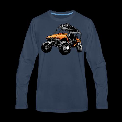 UTV side-x-side, orange - Men's Premium Long Sleeve T-Shirt