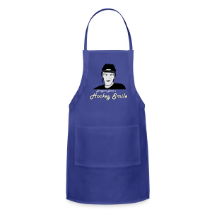 Everyone Loves A Hockey Smile - Mens - Adjustable Apron