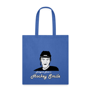 Everyone Loves A Hockey Smile - Mens - Tote Bag