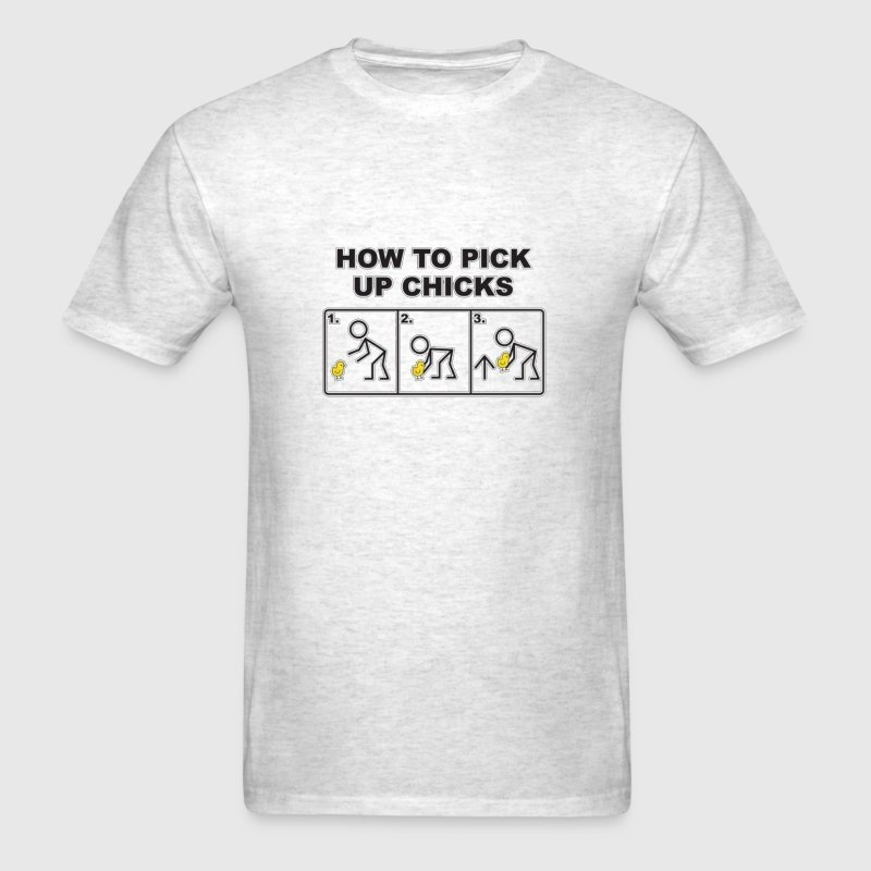 How To Pick Up Chicks T-Shirts - Men's T-Shirt