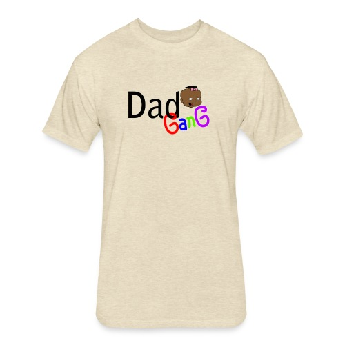 Dad Gang Girl - Fitted Cotton/Poly T-Shirt by Next Level