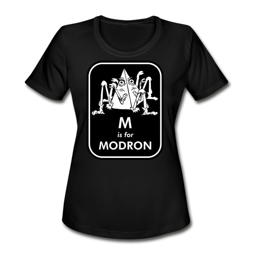 M is for Modron - Women's Moisture Wicking Performance T-Shirt