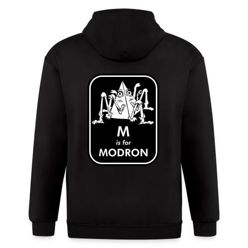 M is for Modron - Men's Zip Hoodie