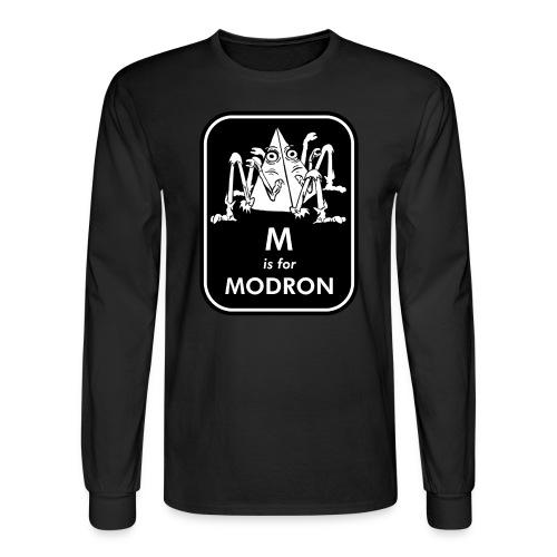 M is for Modron - Men's Long Sleeve T-Shirt