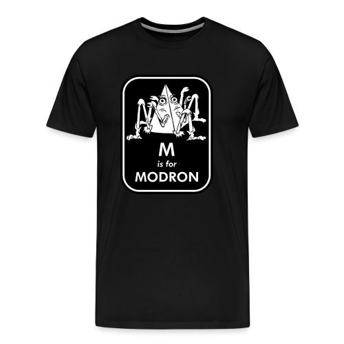 M is for Modron - Men's Premium T-Shirt