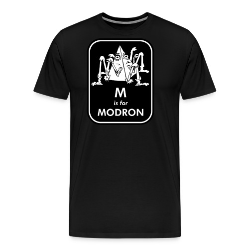 M is for Modron - Men's Premium T-Shirt