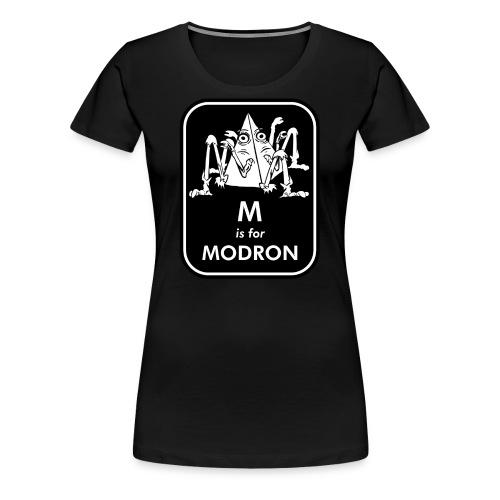 M is for Modron - Women's Premium T-Shirt