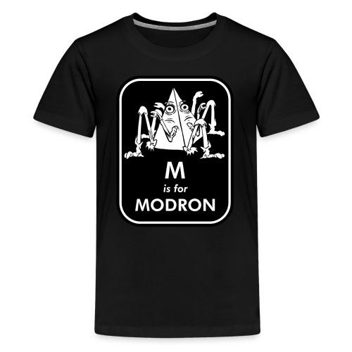 M is for Modron - Kids' Premium T-Shirt