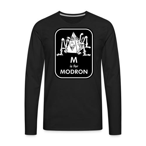 M is for Modron - Men's Premium Long Sleeve T-Shirt