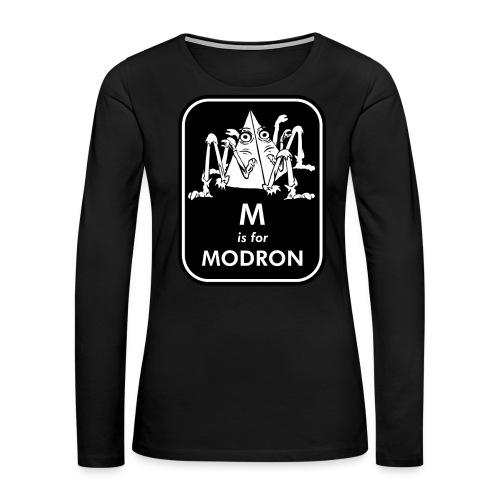 M is for Modron - Women's Premium Long Sleeve T-Shirt