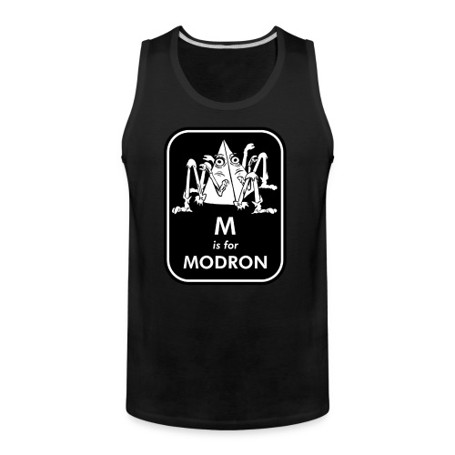 M is for Modron - Men's Premium Tank