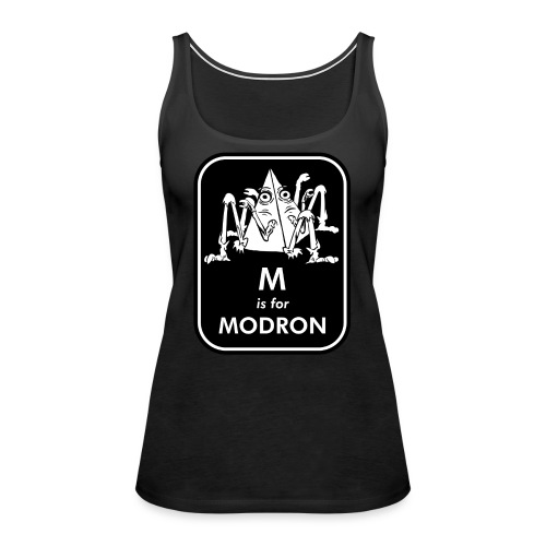 M is for Modron - Women's Premium Tank Top