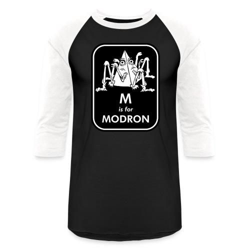 M is for Modron - Baseball T-Shirt