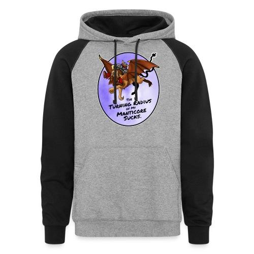 Manticore Rider - Colorblock Hoodie
