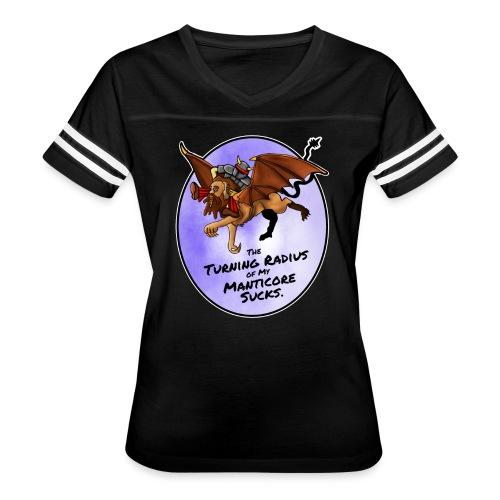 Manticore Rider - Women's Vintage Sport T-Shirt