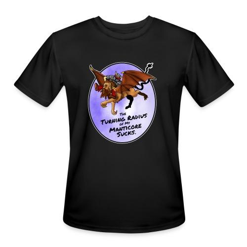 Manticore Rider - Men's Moisture Wicking Performance T-Shirt