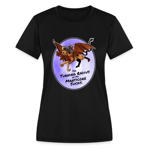 Manticore Rider - Women's Moisture Wicking Performance T-Shirt