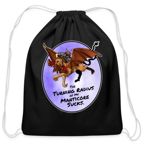 Manticore Rider - Cotton Drawstring Bag