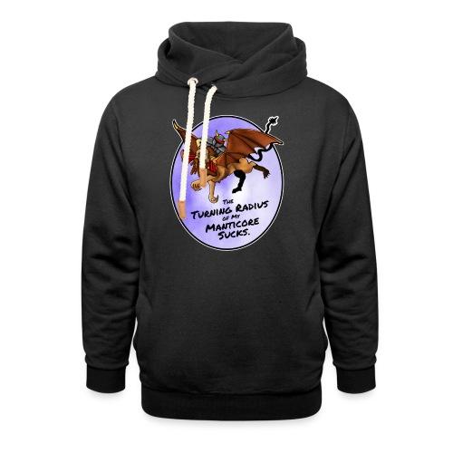 Manticore Rider - Shawl Collar Hoodie