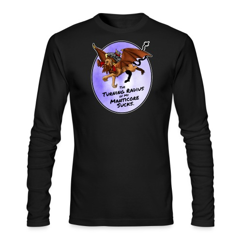 Manticore Rider - Men's Long Sleeve T-Shirt by Next Level