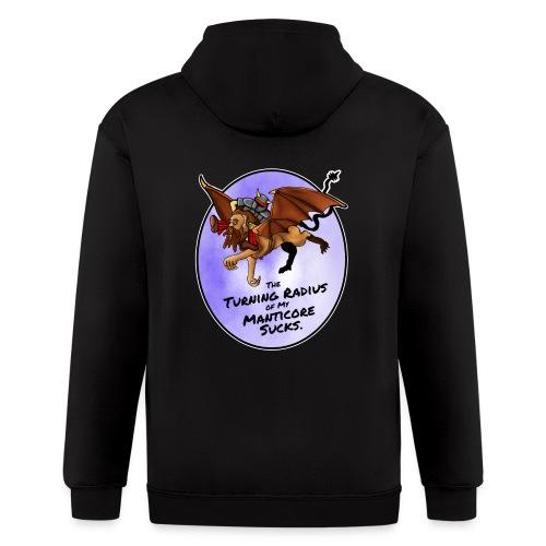 Manticore Rider - Men's Zip Hoodie