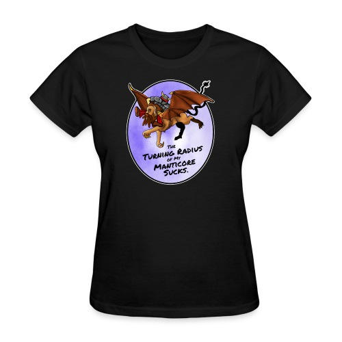 Manticore Rider - Women's T-Shirt