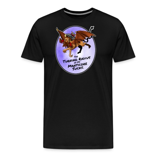 Manticore Rider - Men's Premium T-Shirt