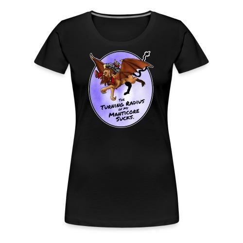 Manticore Rider - Women's Premium T-Shirt
