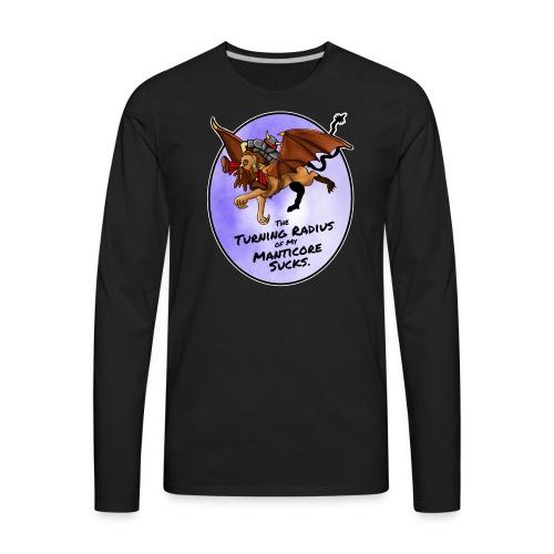 Manticore Rider - Men's Premium Long Sleeve T-Shirt
