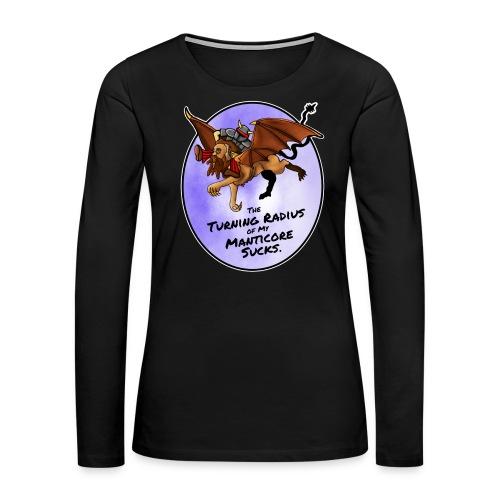 Manticore Rider - Women's Premium Long Sleeve T-Shirt