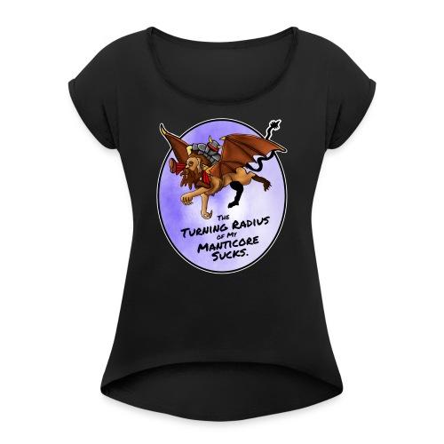 Manticore Rider - Women's Roll Cuff T-Shirt