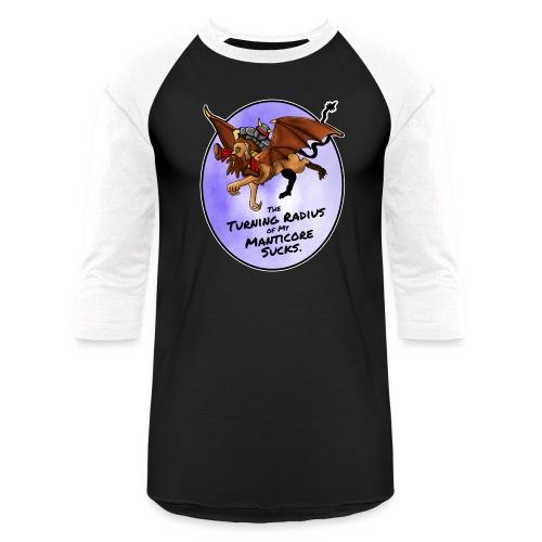 Manticore Rider - Baseball T-Shirt
