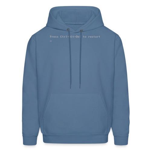 Blue Shirt of Death - Men's Hoodie