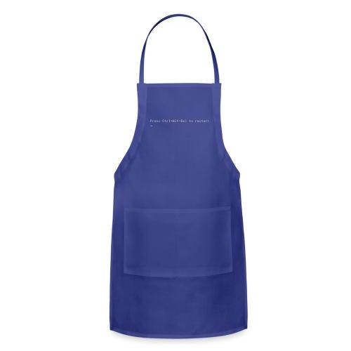 Blue Shirt of Death - Adjustable Apron