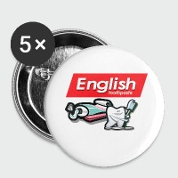 English Toothpaste - Small Buttons